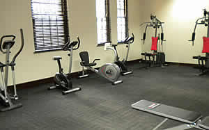 In-house gym at Advocates chambers available in Durban High Court Precinct